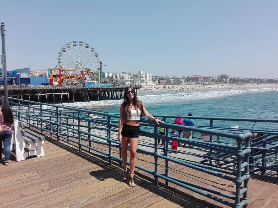 Pontile Santa Monica Los Angeles