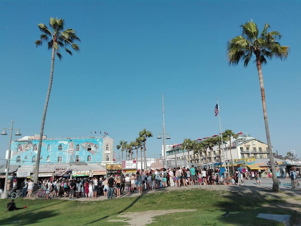Venice beach in viaggio Los Angeles cost cost