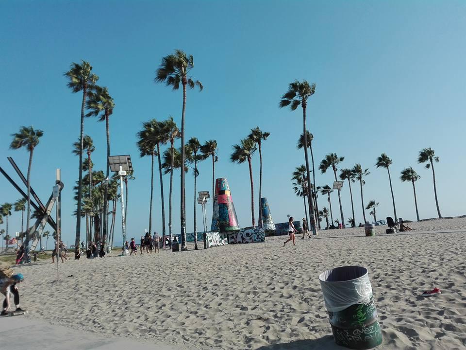 Venice Beach paradiso dei giovani di Los Angeles